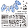 Диск Stamping Nail art L008